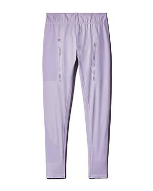 83414dfdbb9f36 Adidas By Stella Mccartney Train Perforated Leggings In Ice Lavender ...