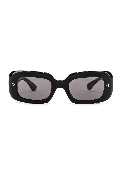 b0f023b072 Oliver Peoples Saurine Sunglasses In Black   Grey