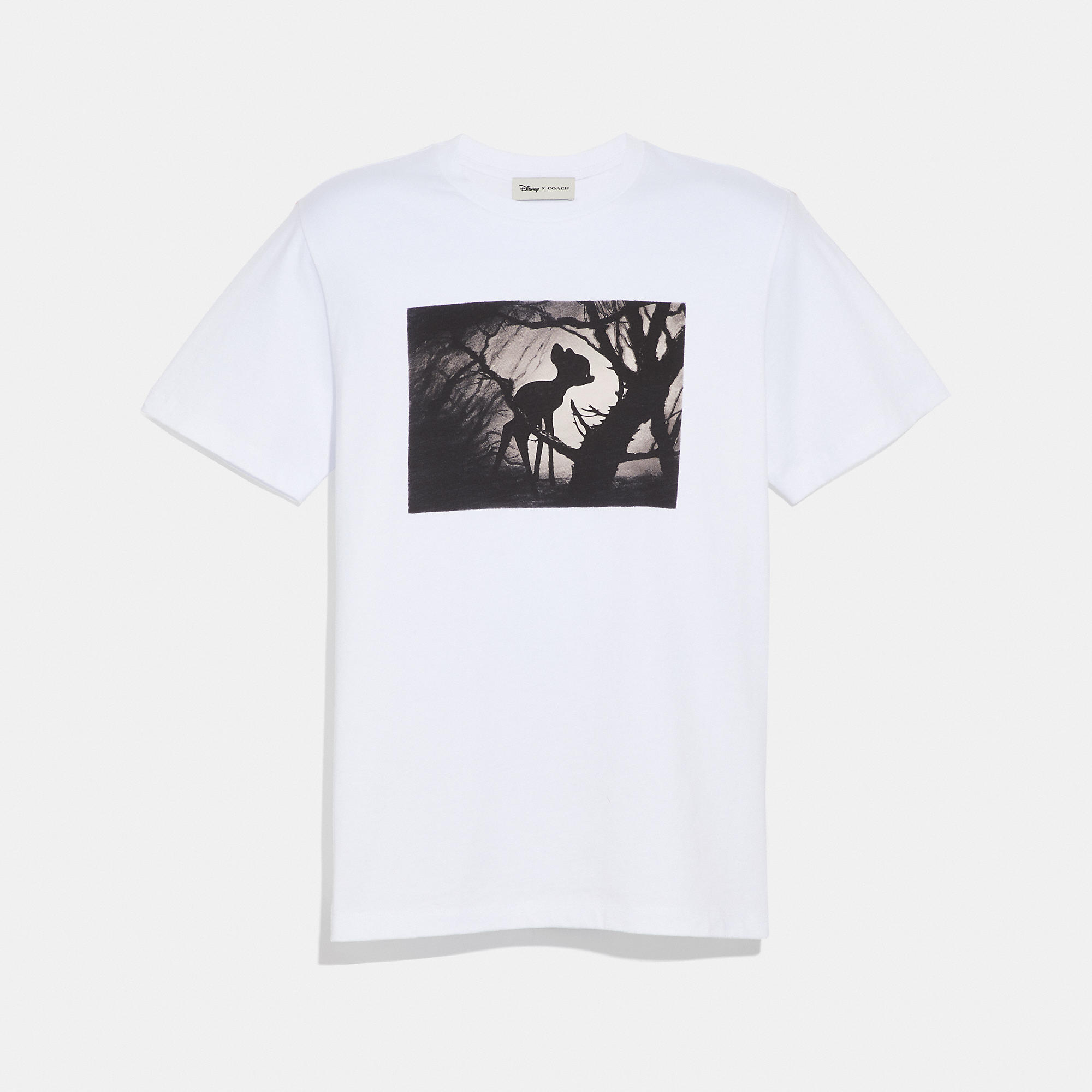 003756fd62f3 Coach Disney X Disney Print T-Shirt - Men's In Optic White With Bambi