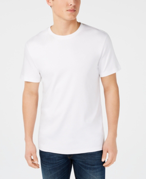 Dkny Men S Supima Crewneck T Shirt In White Modesens