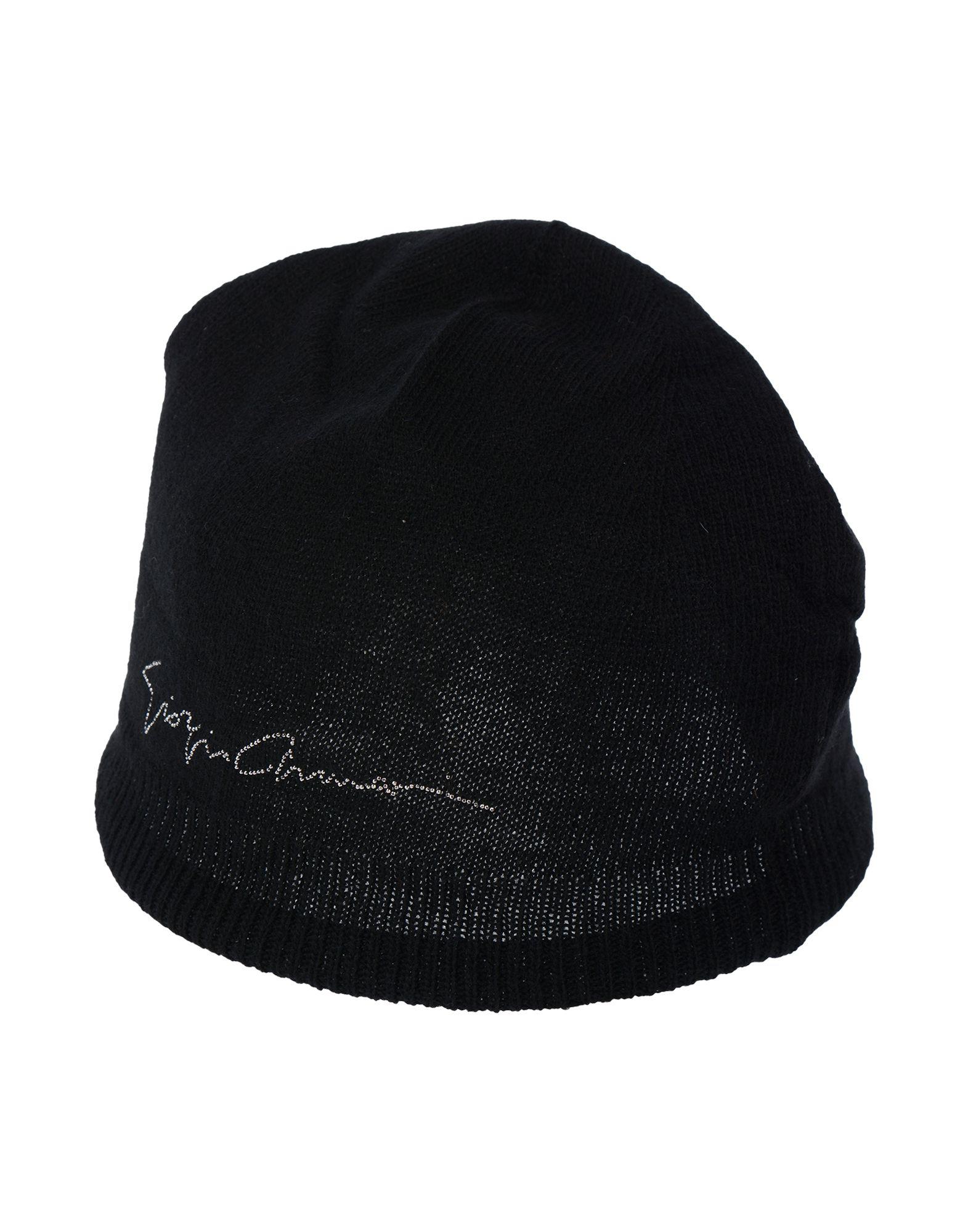 1903e33ef75d9 Giorgio Armani Hats In Black