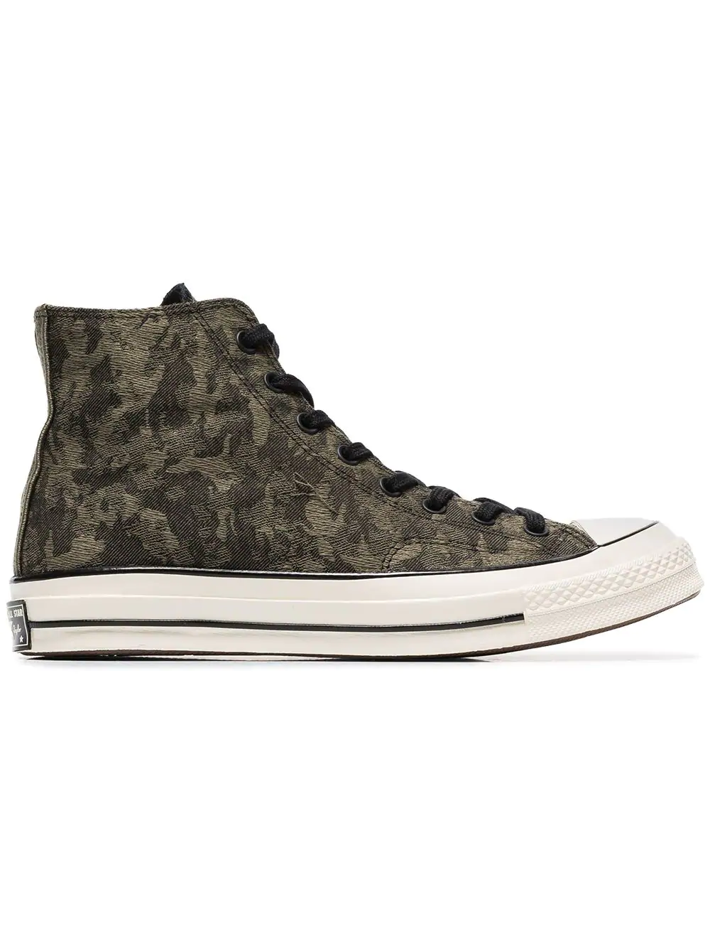 139a43ecd44f Converse Green Chuck 70 Camouflage Cotton High Top Sneakers