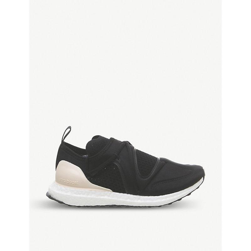 c7314bfa30f Adidas Originals Stella Mccartney Ultraboost T Primeknit And Neoprene  Trainers In Core Black Apricot