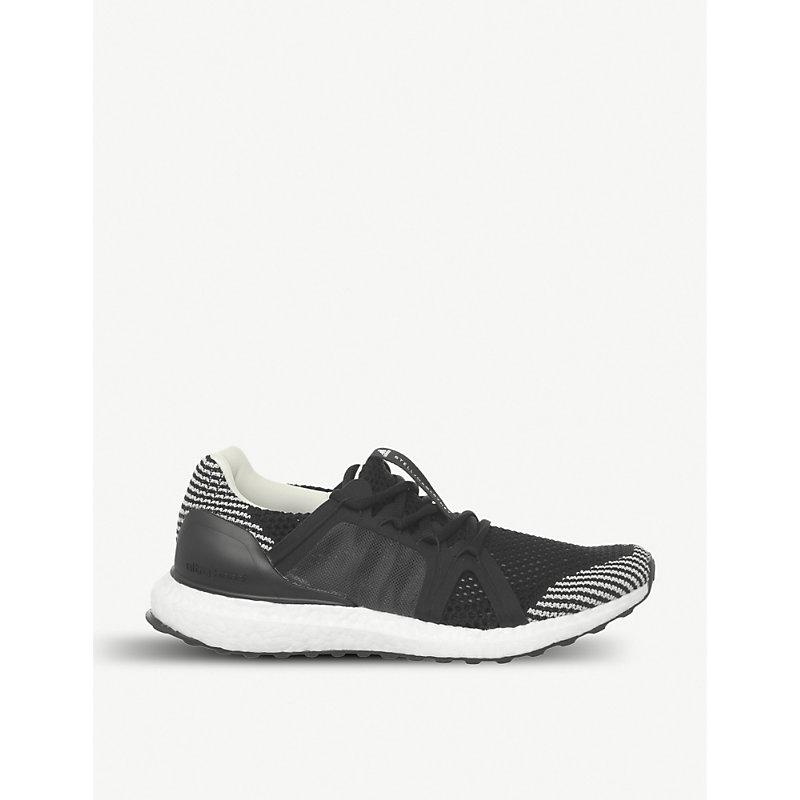 cbf491190bc Adidas Originals Stella Mccartney Ultraboost Primeknit Trainers In Black  White Granite