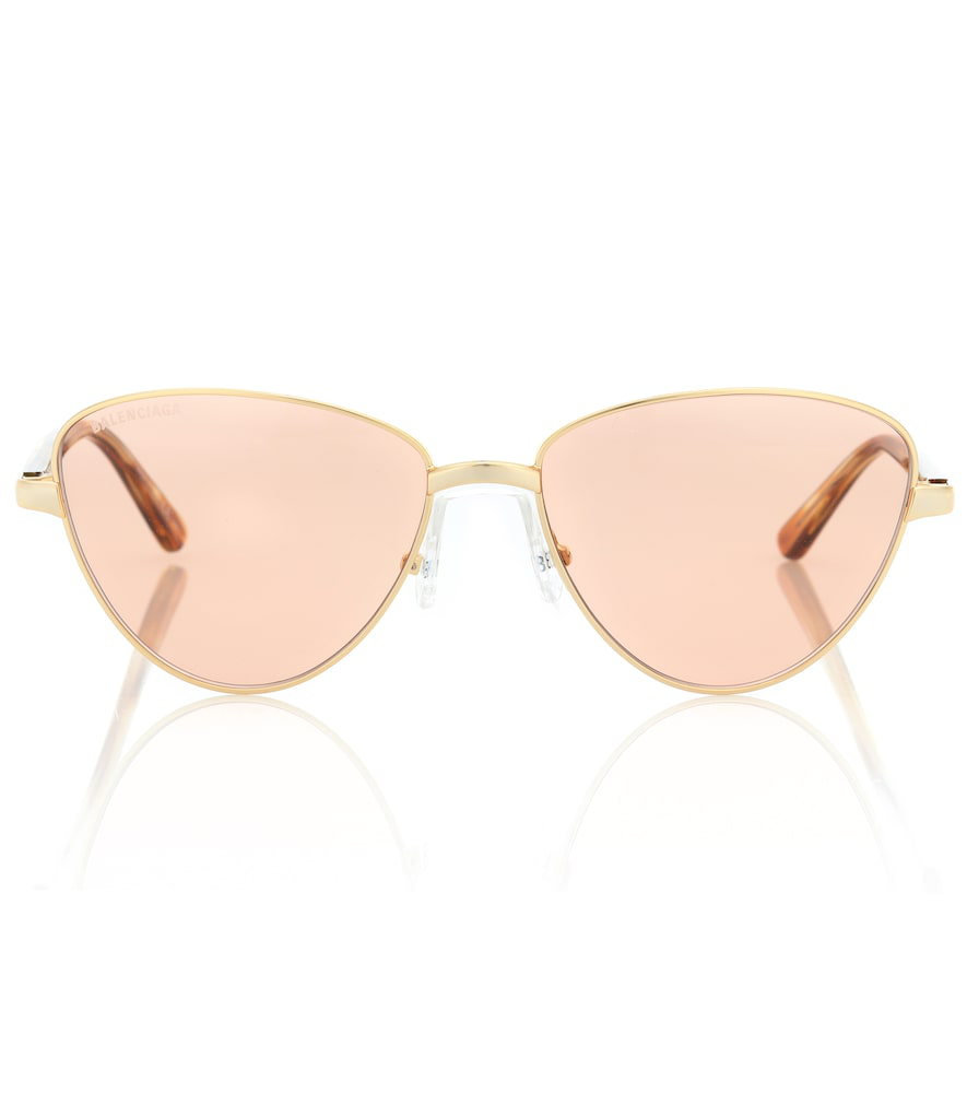 df0207f92361 Balenciaga Cat-Eye Sunglasses In Gold