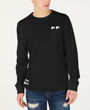 25df3bd74 Guess J Balvin X Men s Long-Sleeve T-Shirt In Black