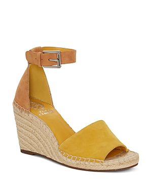 ce0772e8f46 Women's Leera Suede Espadrille Wedge Sandals in Yellow
