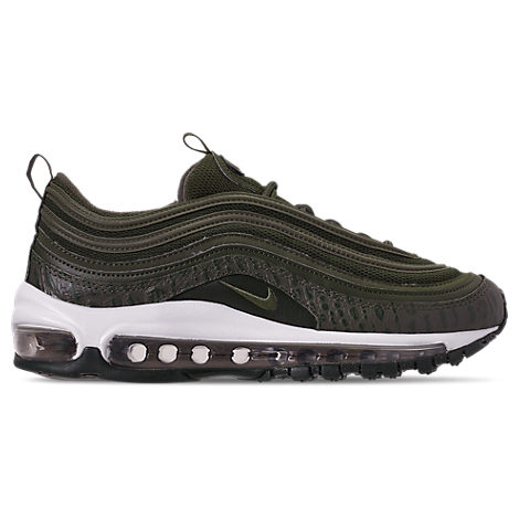 new style 3ebf8 7eabd Nike Women's Air Max 97 Lux Casual Shoes, Green | ModeSens