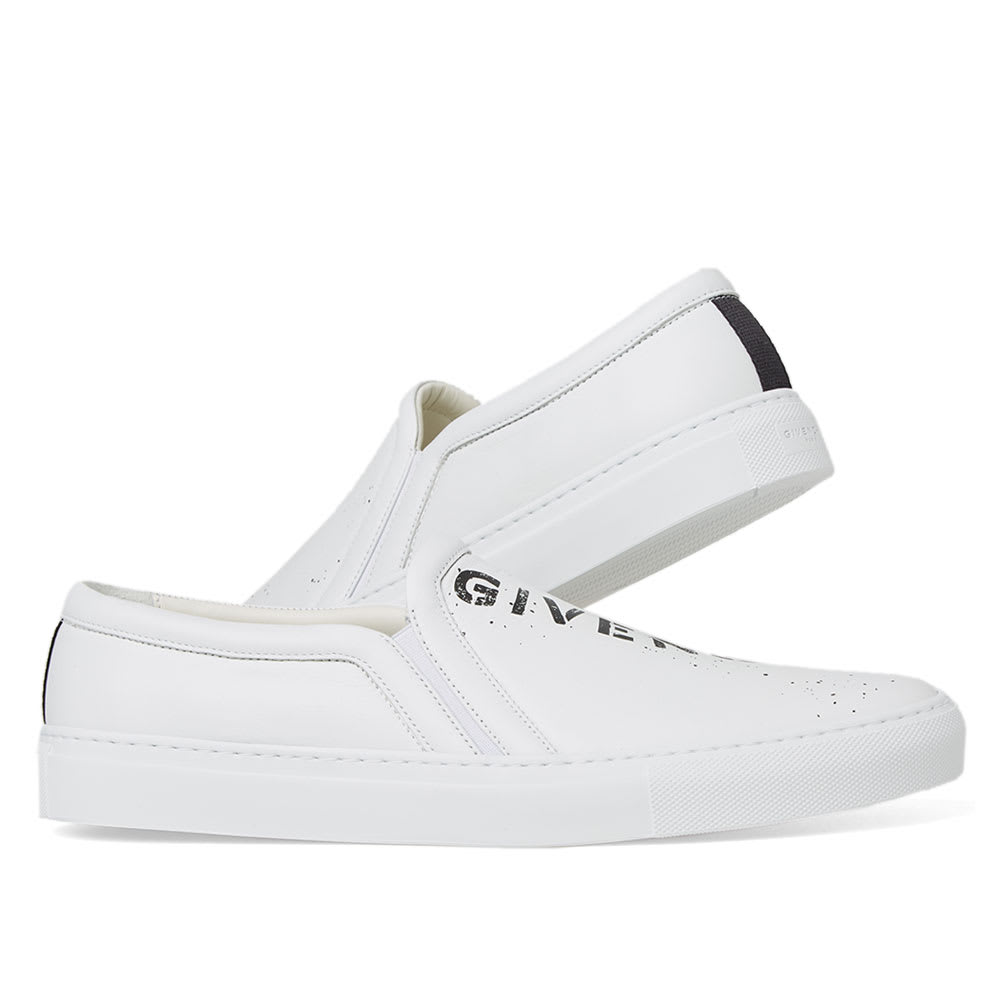 GIVENCHY Givenchy Stencil Urban Slip-On Sneaker,BH200MH0AT-11623