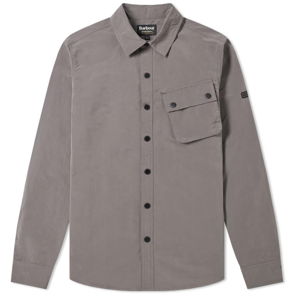 barbour international overshirt