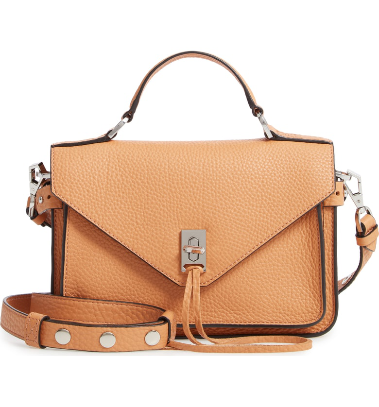 025156c6af Rebecca Minkoff  Small Darren  Leather Messenger Bag In Honey