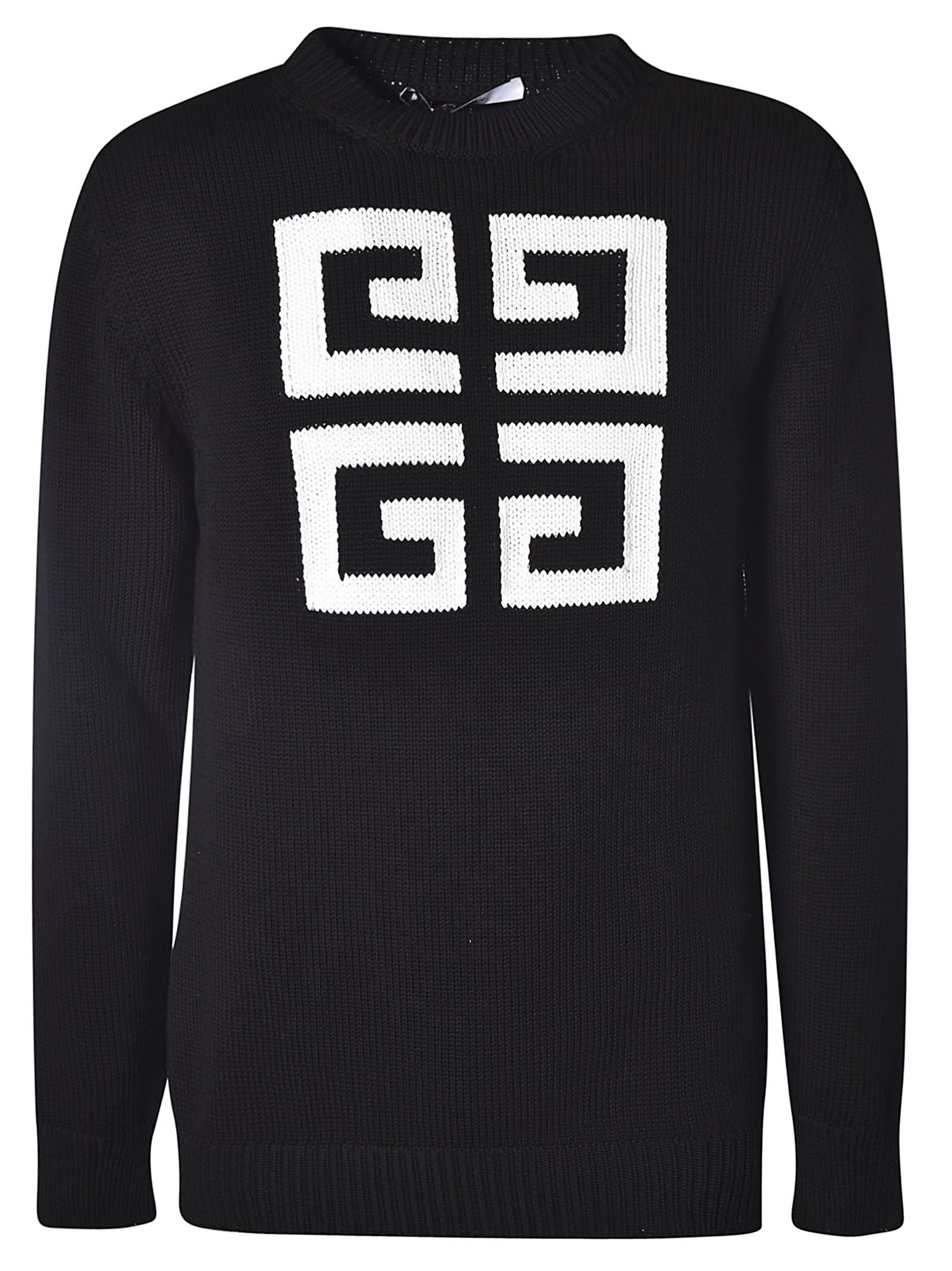 60996fc5c Givenchy Men S Jacquard Round-Neck Sweater