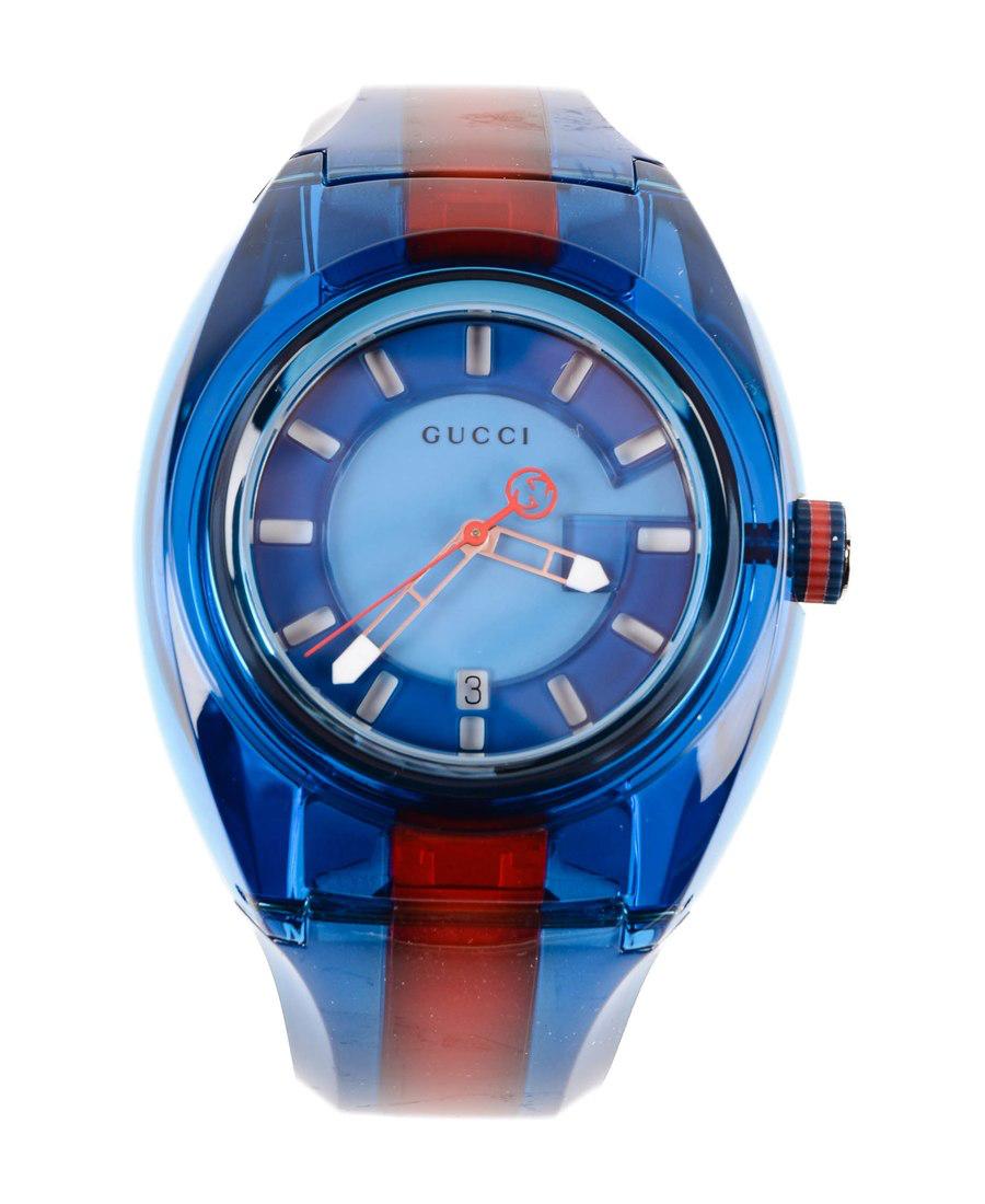 f77d3f70b2f Gucci Gg Web Sync腕表 In Blue