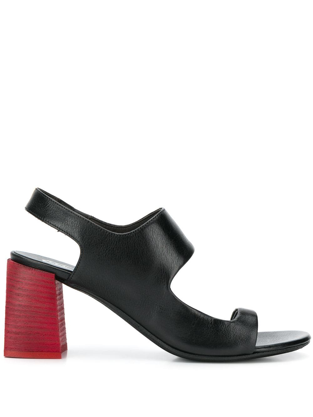 1f1f132f5c1289 MarsÈLl Block Heel Sandals - Black
