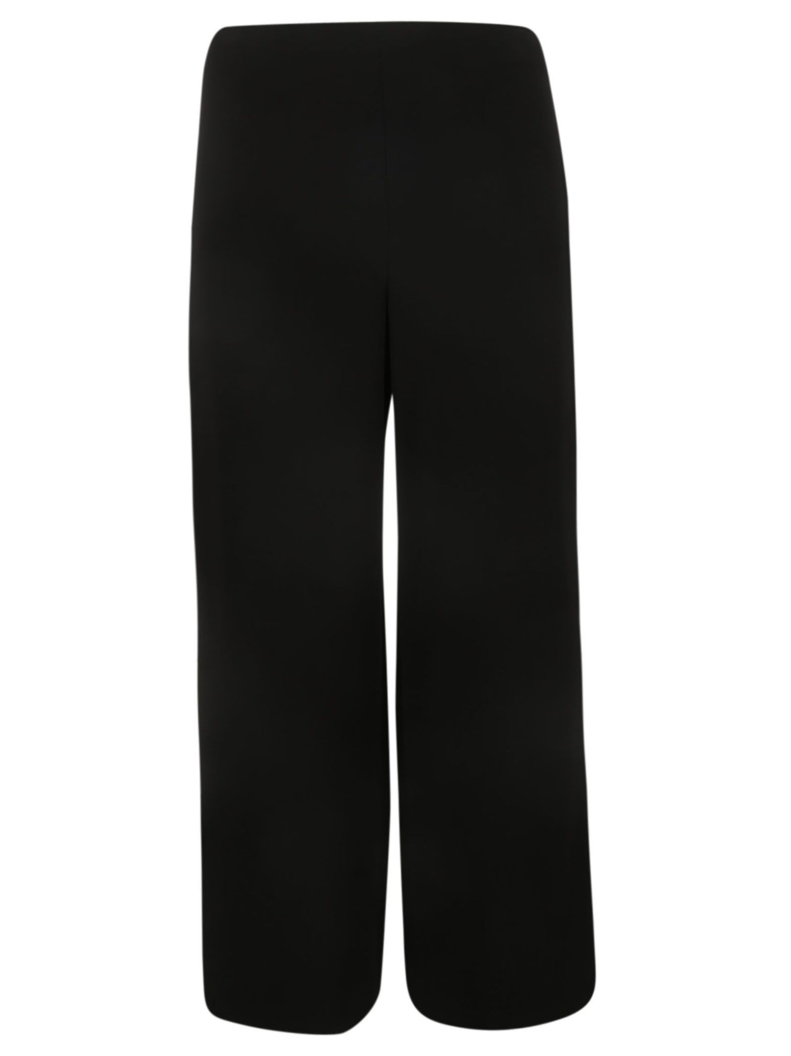 92ddccea91 Theory Flared High Waisted Trousers In Black