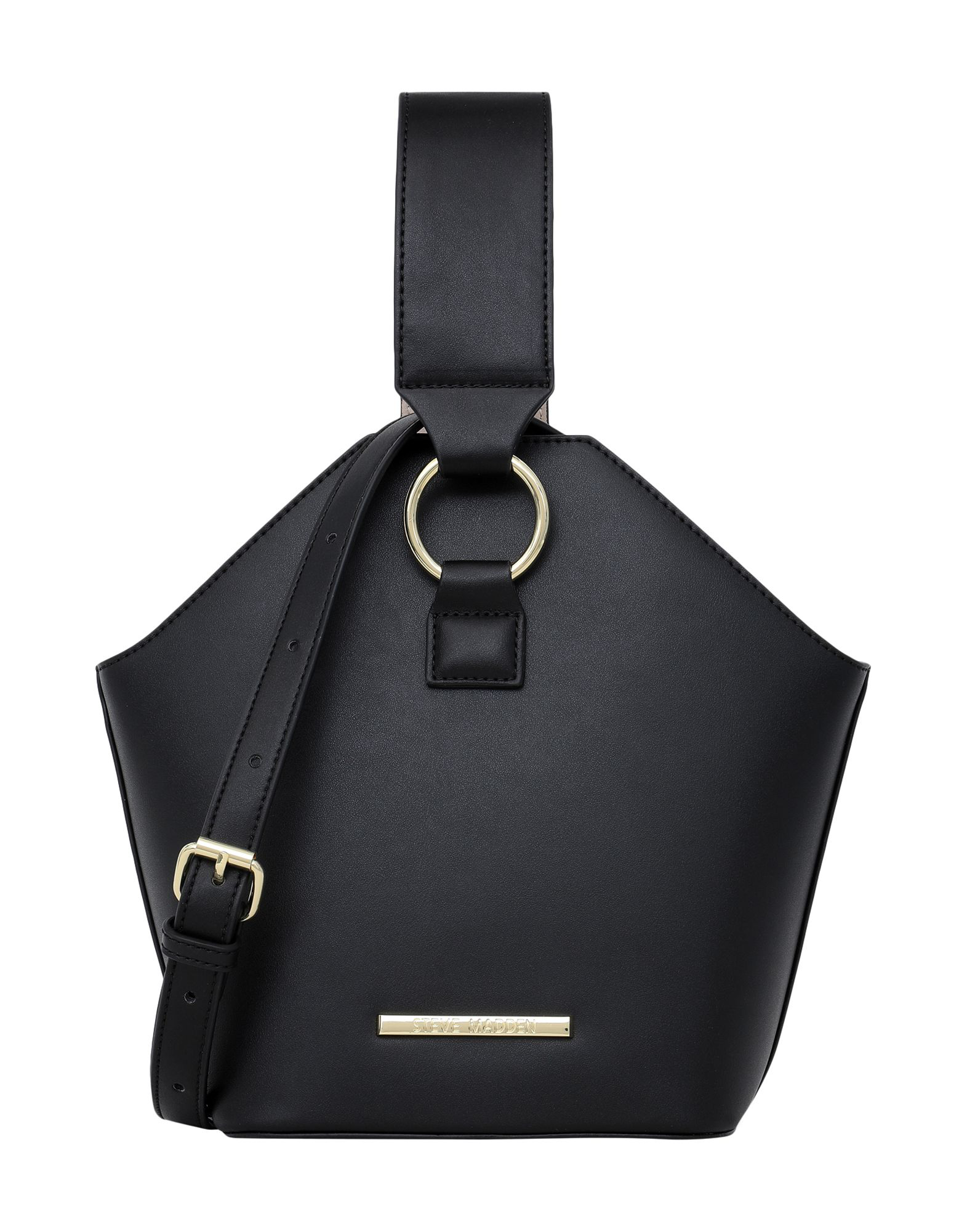 Steve Madden Handbag In Black Modesens