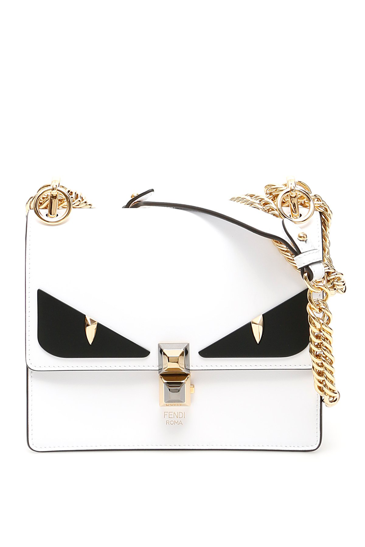 6a97370f Fendi Kan I Small Bag Bugs Bag in White