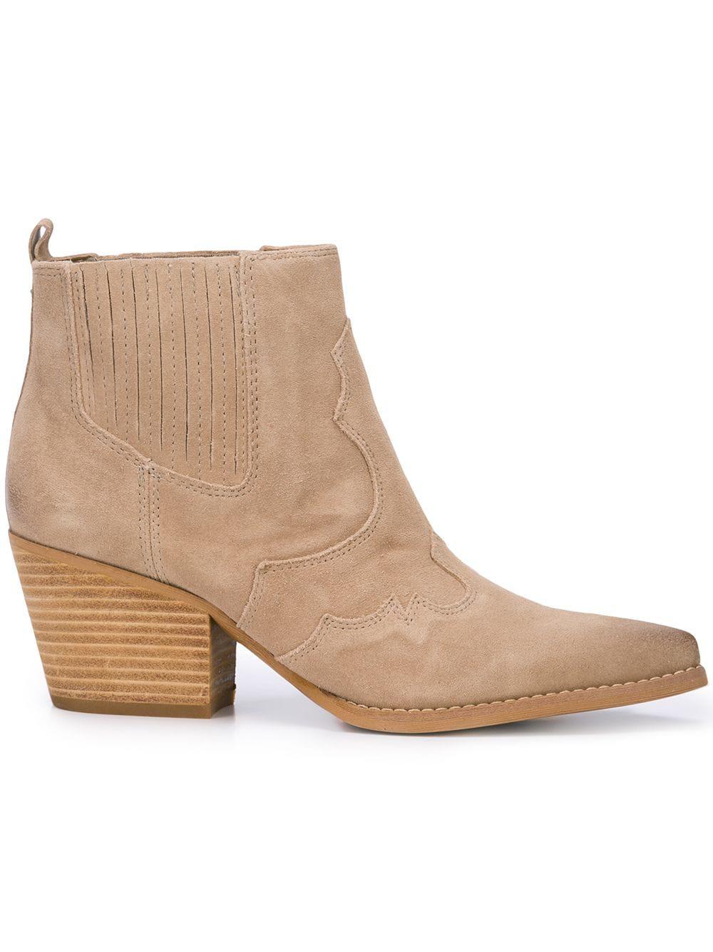 6171d54a4 Sam Edelman Winona Western Boots - Neutrals