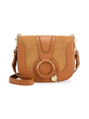b2b86c24 Small Hana Leather Crossbody Bag in Caramello