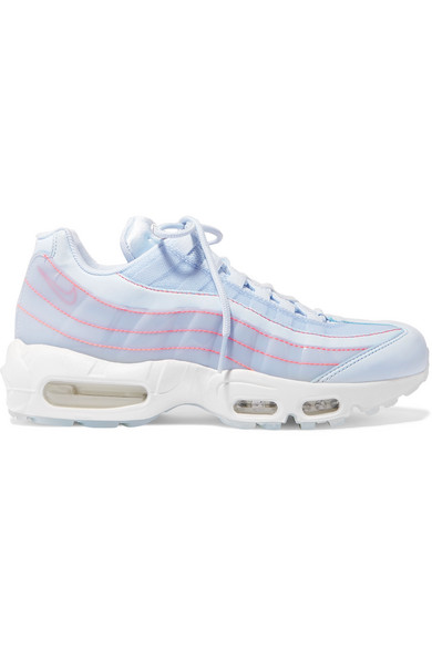 popular brand nice cheap half off Air Max 95 Se Mesh, Leather And Pvc Sneakers in Blue