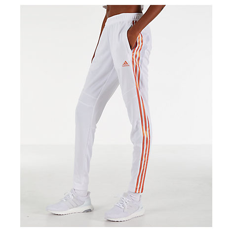 e7acde3fe Adidas Originals Adidas Pearl Essence Tiro Climacool Soccer Pants In White