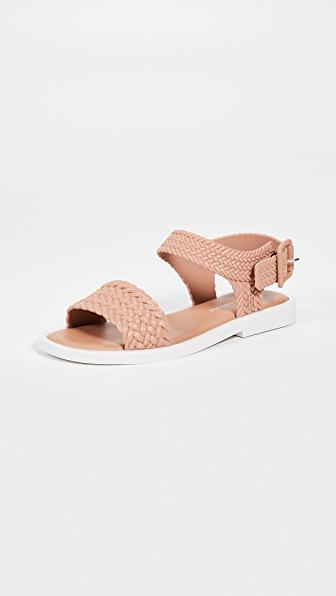 43c9edf68 Melissa X Salinas Mar Sandals In Brown White