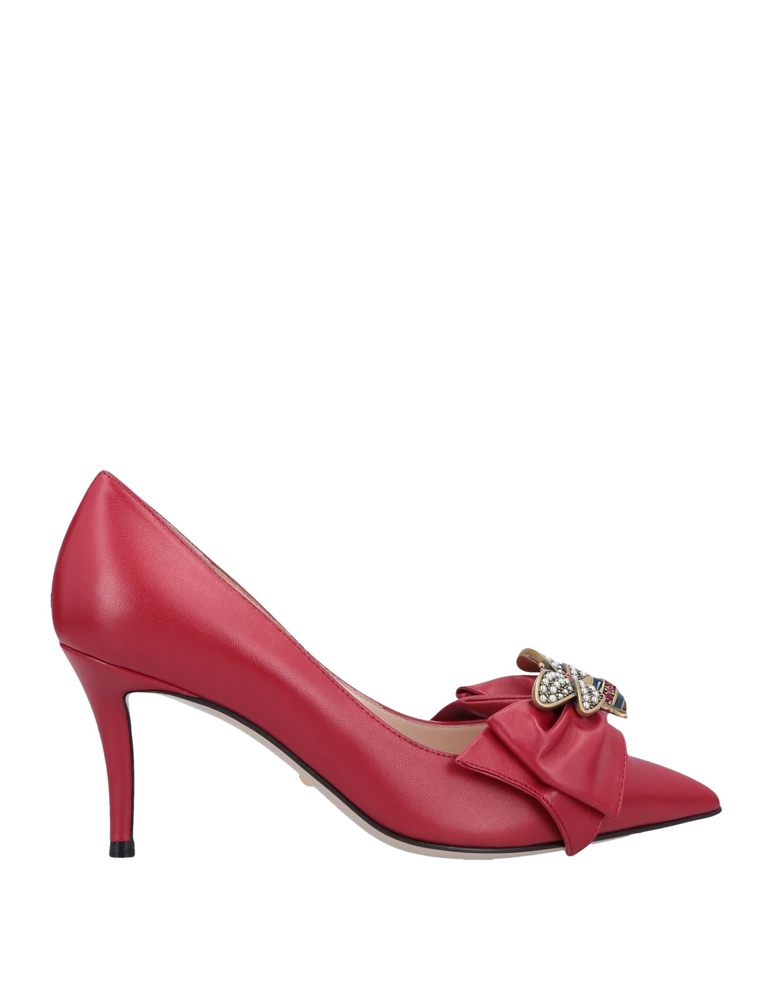 89d948c05c Gucci Pumps In Red | ModeSens