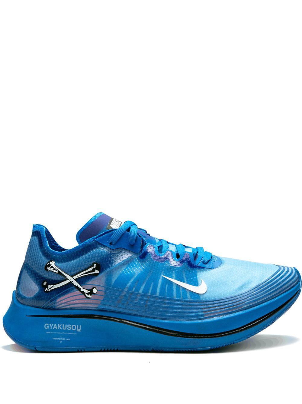e74d8a94cf9d2 Nike + Gyakusou Zoom Fly Sp Ripstop Sneakers - Blue. Farfetch