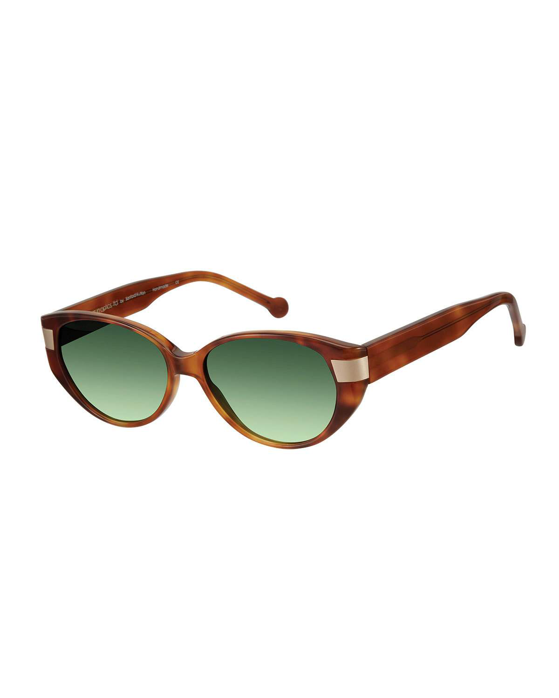6d770309760 Colors In Optics South Beach Gradient Cat-Eye Sunglasses