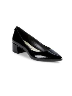 14d3a2011472 Anne Klein Norwood Hardware-Heel Pumps In Black