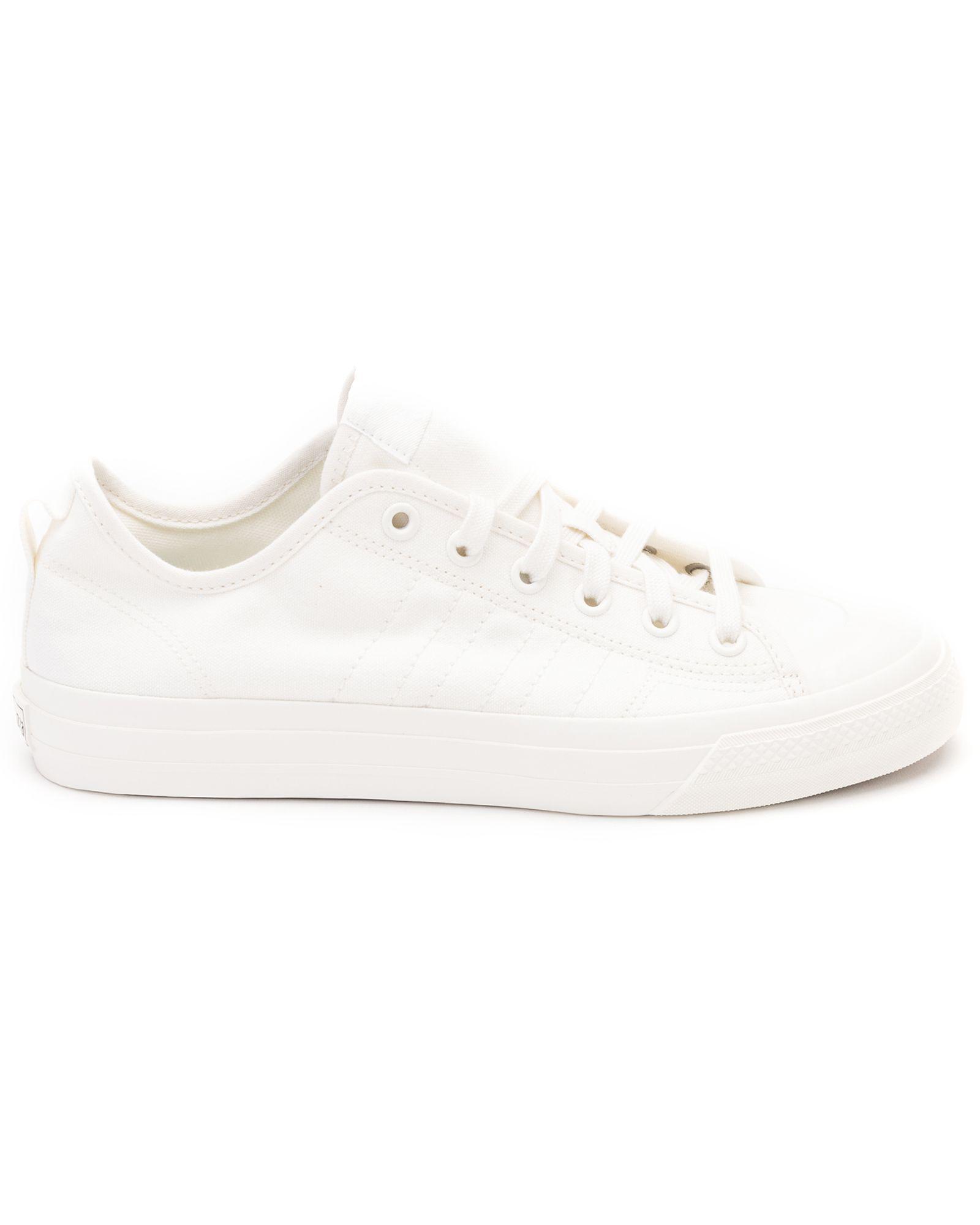 Adidas Originals Nizza Rf Canvas Sneakers In White | ModeSens