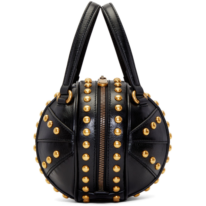 2a95607eb890 Gucci Tifosa Mini Studded Sphere Shoulder Bag In 1000 Black | ModeSens