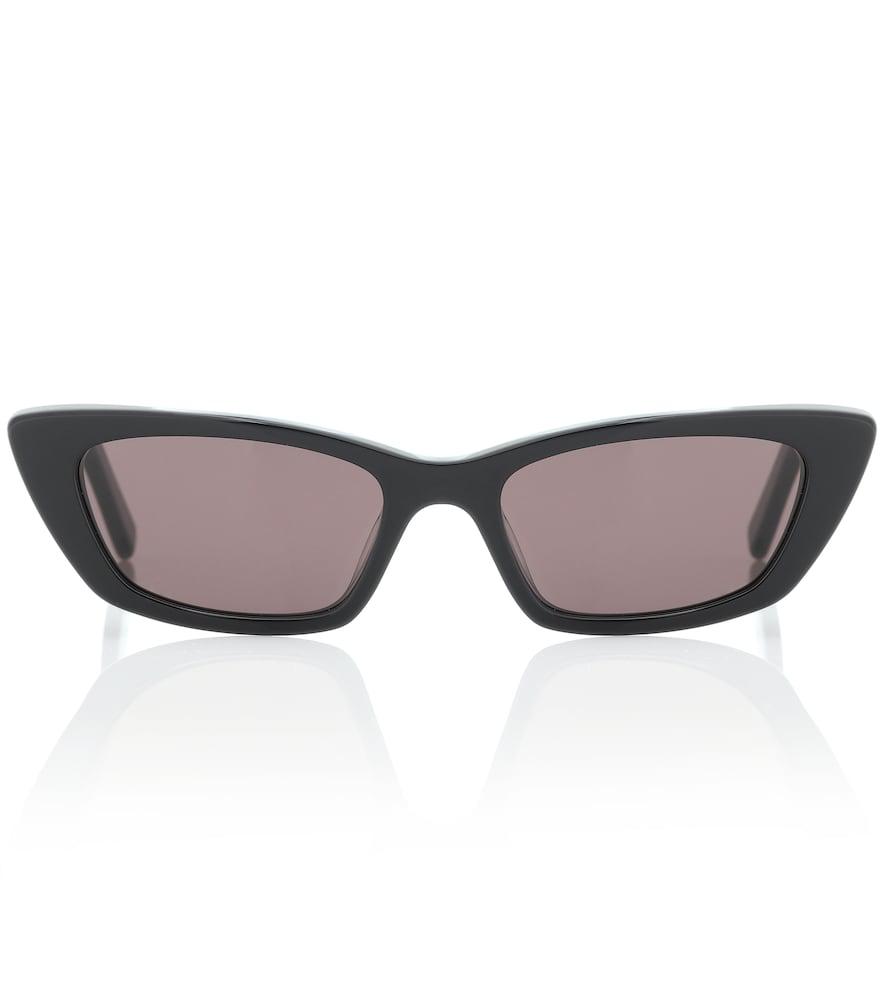 84c6e87888d Saint Laurent Sl 277 Cat-Eye Sunglasses In Black | ModeSens