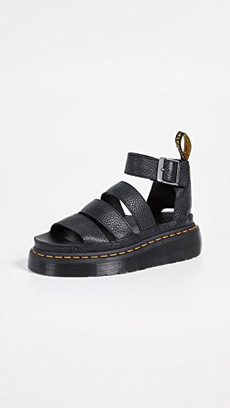e8986f8c0909 Dr. Martens Clarissa Ii Quad Sandals In Black