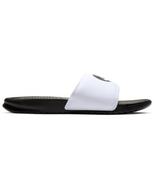 00378d09a833 Nike Men s Benassi Jdi Print Slide Sandals From Finish Line In Black ...