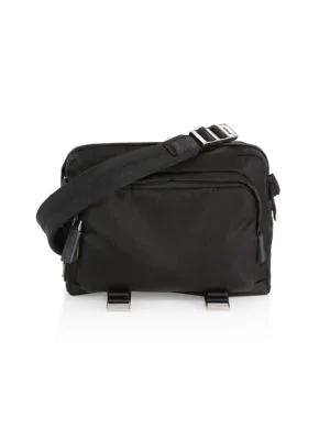 10feb1719397 Prada Mountain Messenger Bag In Black