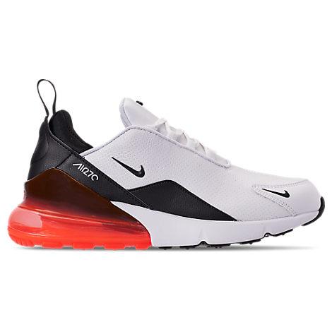 89277da5a417e Men's Air Max 270 Premium Leather Casual Shoes, White