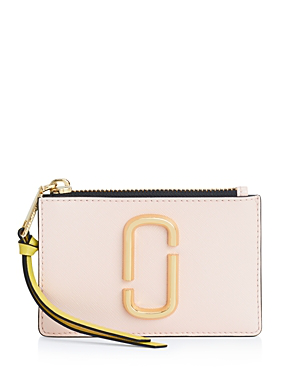 bb3be518cbb1 Marc Jacobs Top Zip Leather Multi Card Case In Neutrals | ModeSens