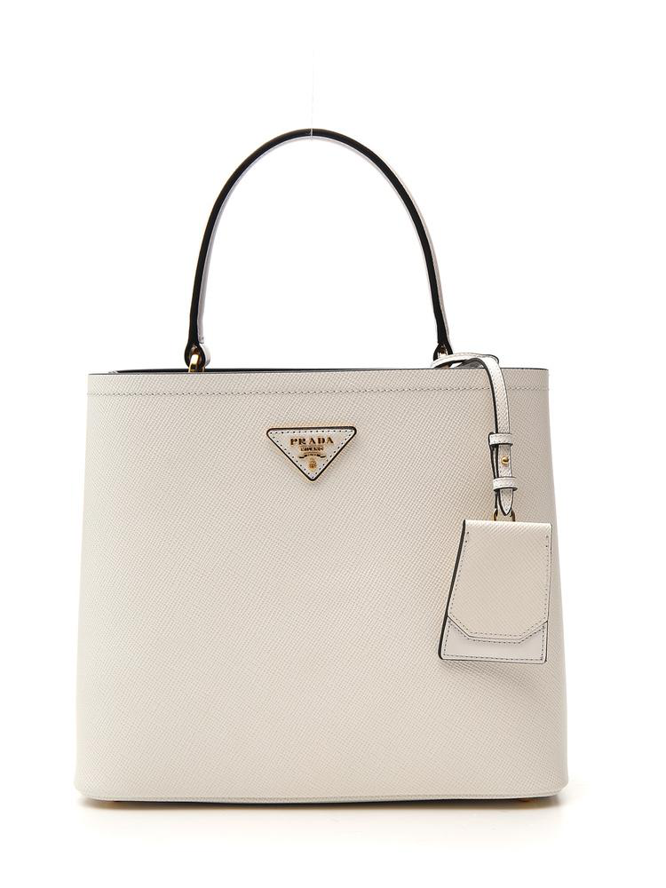 bc12302d97eb Prada Bibliotheque Tote Bag In White