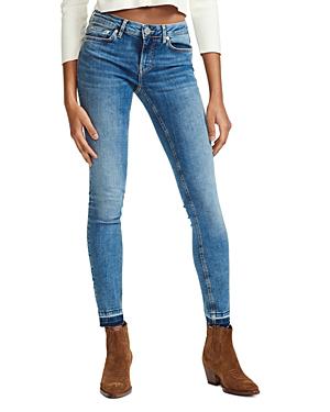 33eb097cf46 Maje Probin Mid Rise Skinny Jeans In Denim