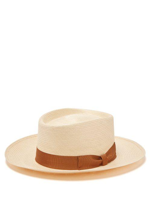 21a73a1f16b0e Lock   Co. Hatters - Sicily Panama Woven Straw Hat - Mens - Beige ...