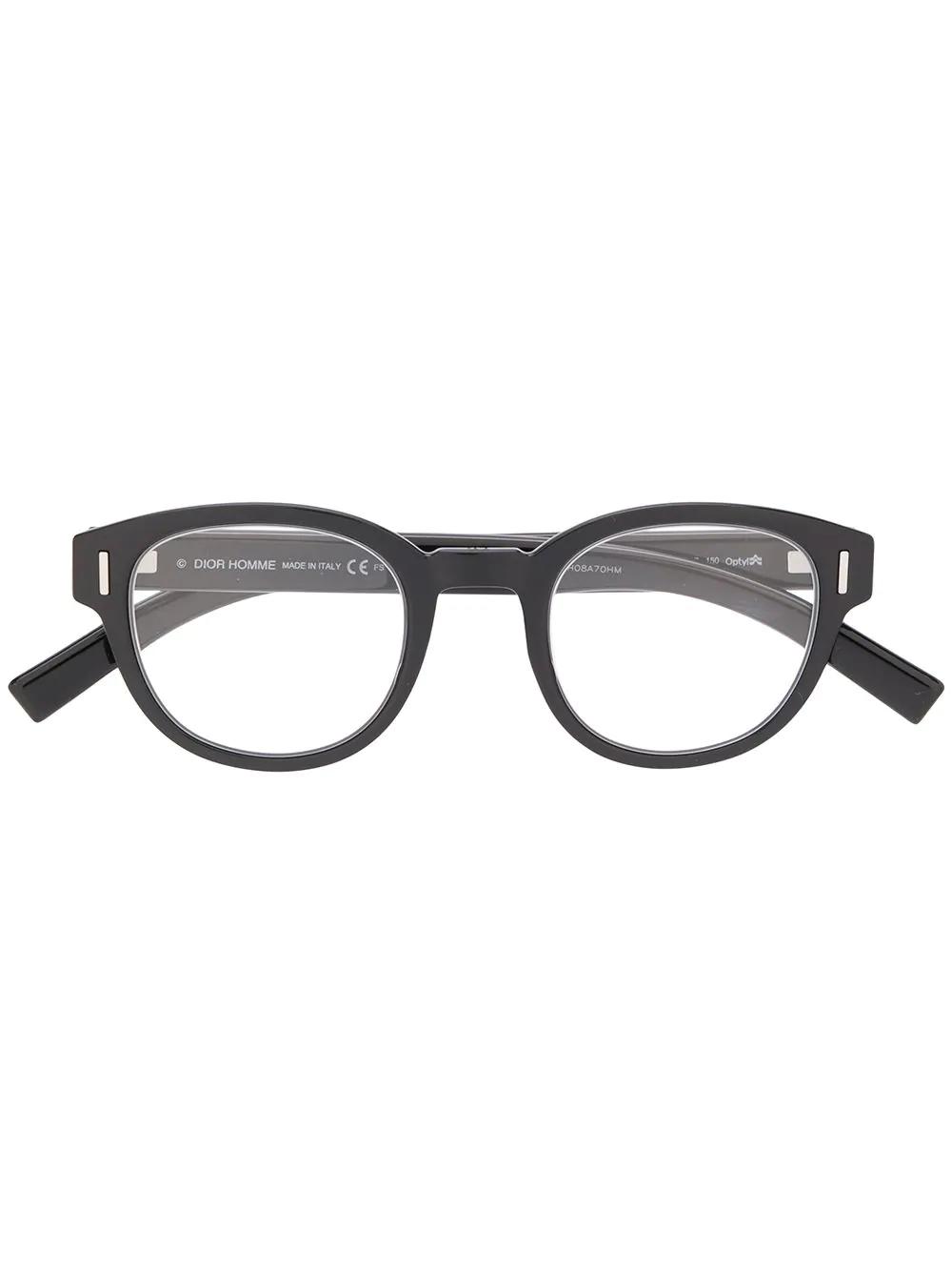 fe937374e9 Dior Eyewear Fraction 03 Glasses - Black
