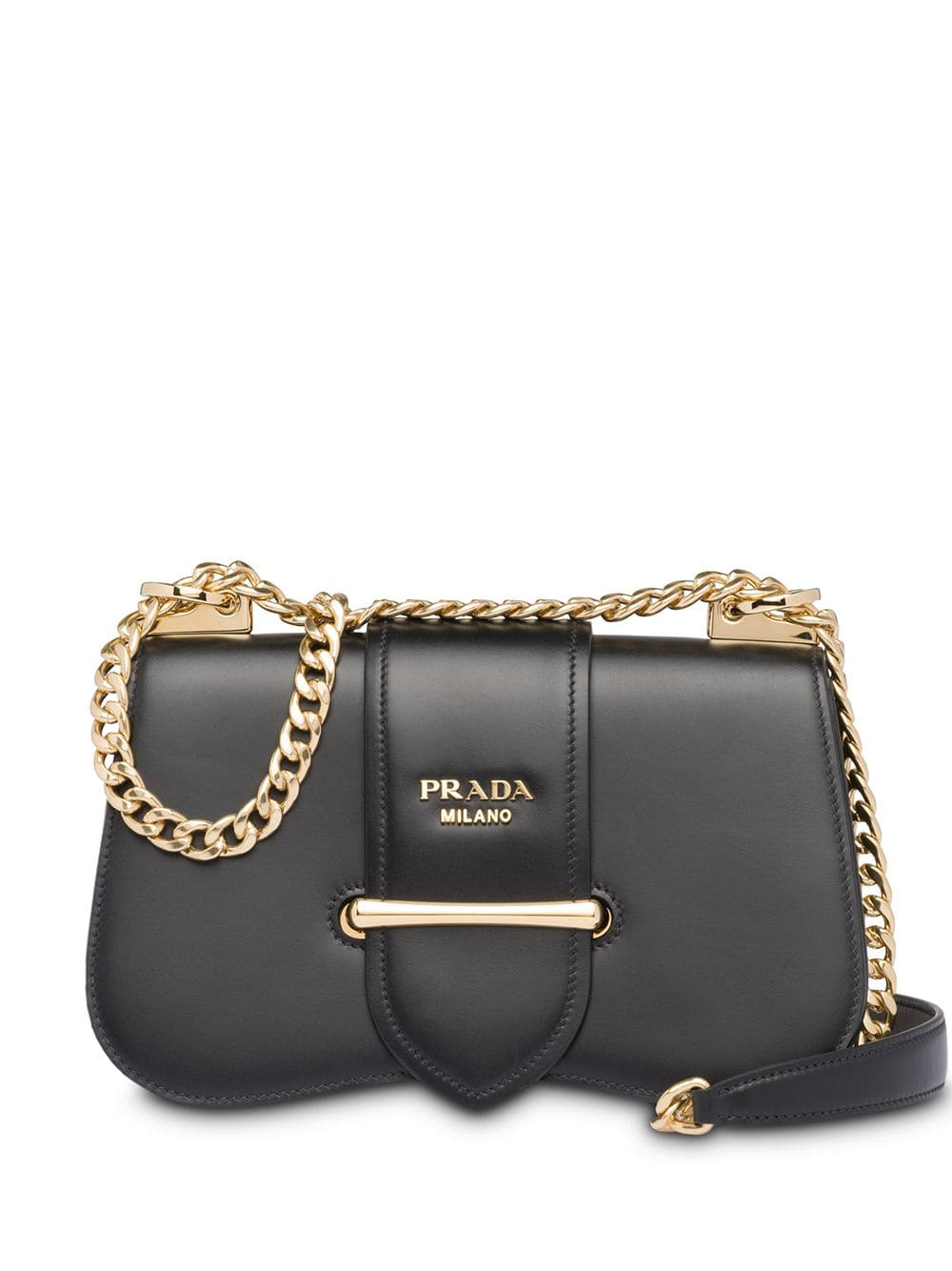 807e83da64fc68 Prada Sidonie City Calf Crossbody Bag, Black In F0002 Black | ModeSens