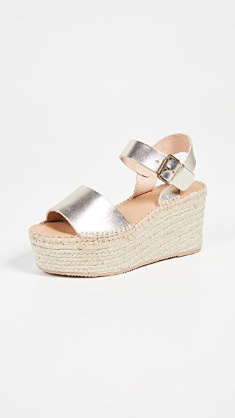 213998617b8 Soludos Minorca High Platform Sandals In Platinum