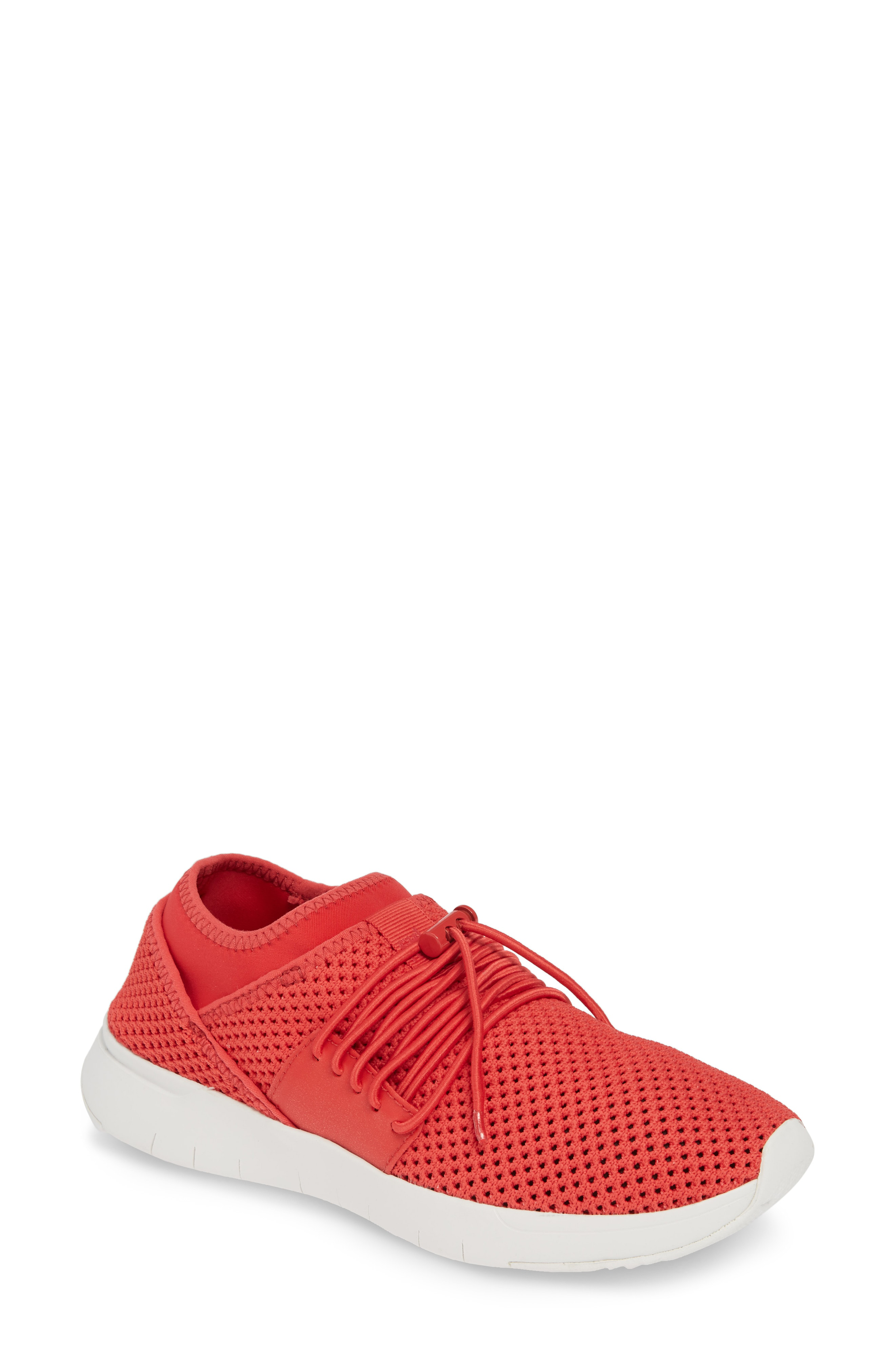 ff828ae58 Fitflop Airmesh Sneaker In Passion Red