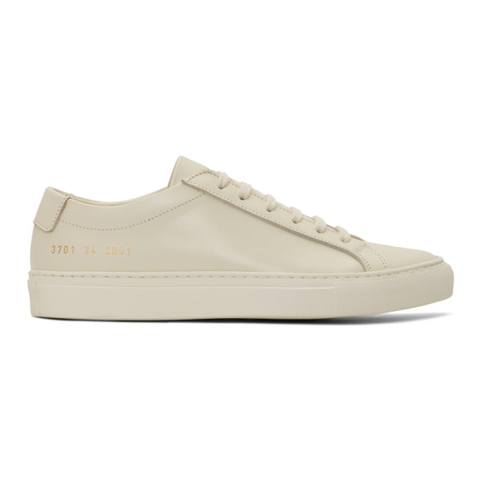 300a3afcdf18 Common Projects Woman By Off-White Original Achilles Low Sneakers In 3001  Warm W