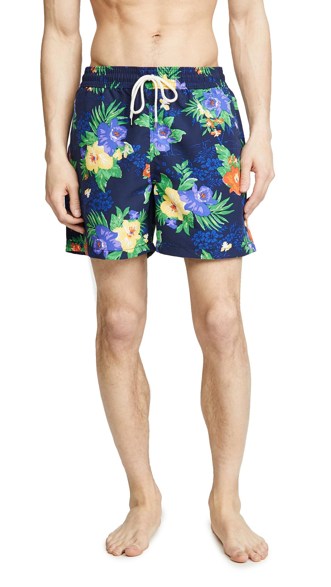 6724b6c042 Polo Ralph Lauren Traveler Swim Shorts In Floral   ModeSens