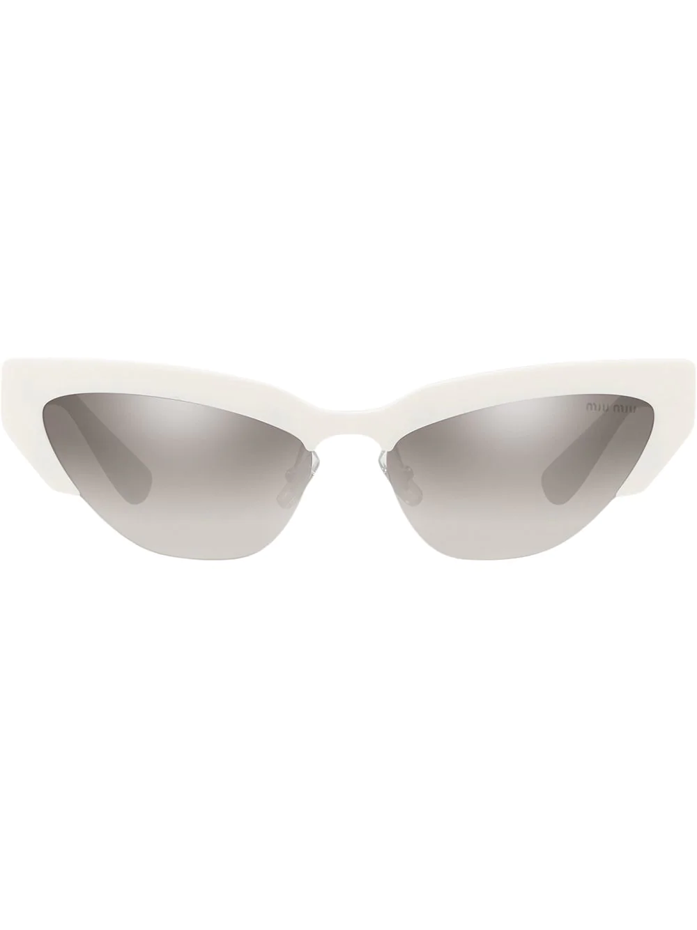 c93bc9abc75 Miu Miu Eyewear Cat Eye Sunglasses - Grey. Farfetch