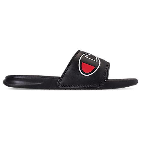 0fea8ce3b Champion Men s Super Slide Split Script Slide Sandals
