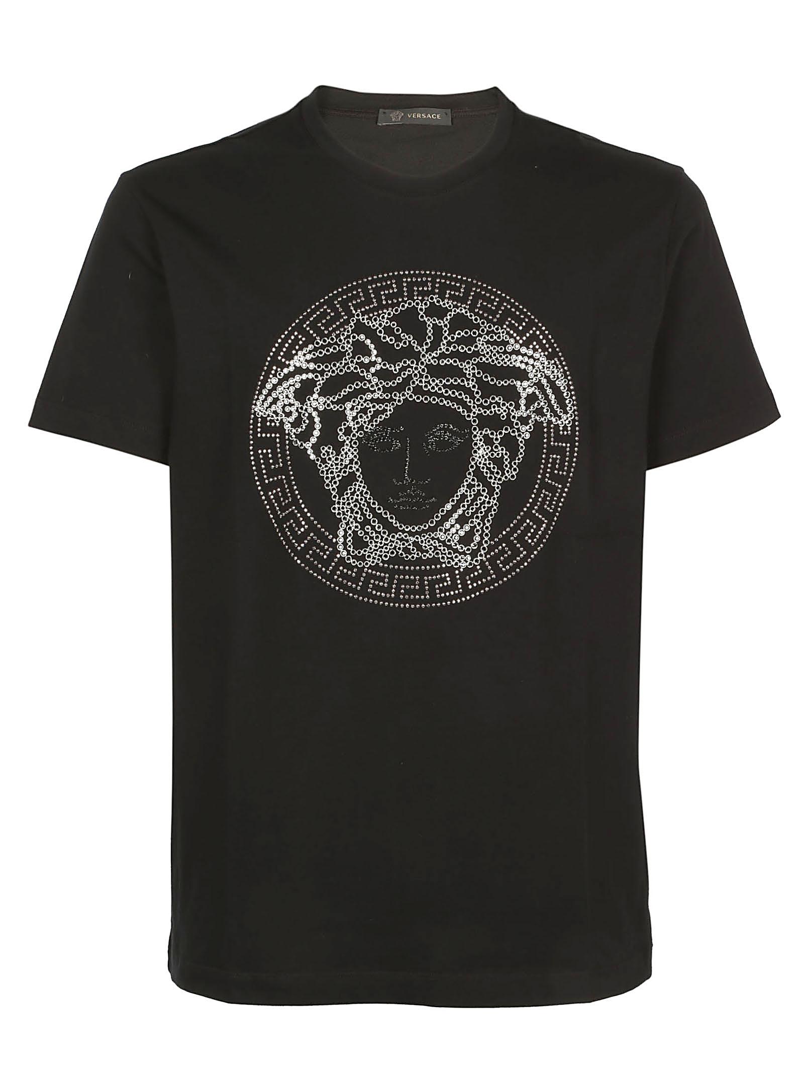 53688f30 Versace Men's Medusa Head Graphic T-Shirt, Black | ModeSens